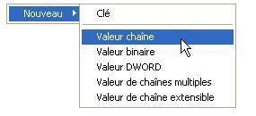 Creation d'une valeur chaine pour modifier le titre dans Internet explorer