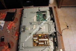 TV LG 42LH3000 : vue de l'intérieur