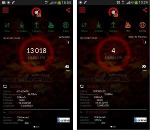 Free Mobile test débit décevant