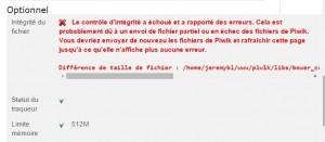 Problème pour installer Piwik 01