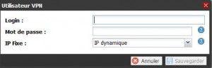 Créer un compte serveur VPN FreeBox OS