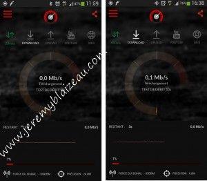 Free Mobile : test debit