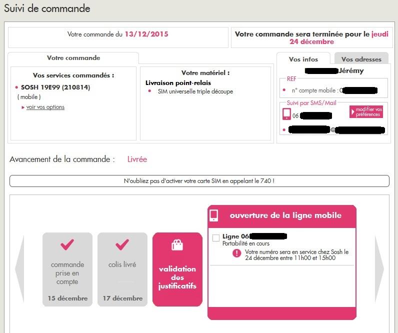 activer carte sim sosh portabilité Sosh, pour enfin avoir un réseau de qualité !   par jérémy