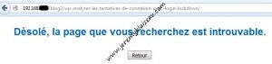 Restaurer wordpress - wordpress ok mais page ne s affiche pas