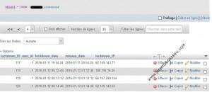 Login LockDown - 03 - Visu table lockdowns