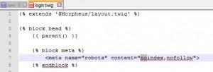 Piwik - Enlever indexation par moteur de recherche