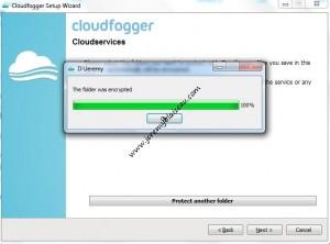 Cloudfogger : protection d'un répertoire