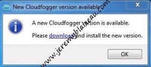 Mise à jour cloudfogger 1.5