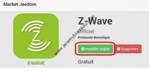 Jeedom et Z-Wave - installation