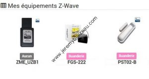 Z-Wave - Inclusion