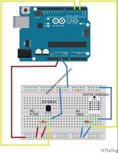 Arduino - fritzing