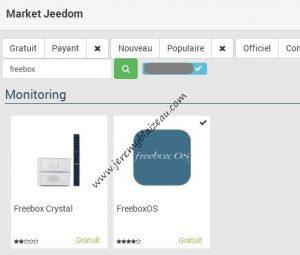 Monitorer la Freebox avec jeedom