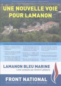 Lamanon bleu marine