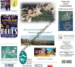 Site web Lamanon 2012