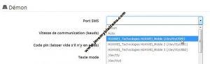 Envoyer des SMS avec Jeedom et une clé USB 3G