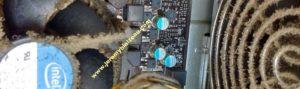 Poussière, saleté (toile d'araignée?) : votre ordinateur n'aime pas !