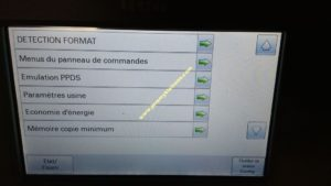 Lexmark : Accéder au menu caché pour désactiver le scanner