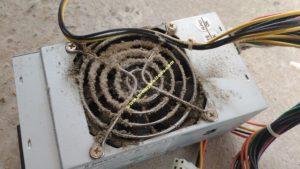 Poussière, saleté (toile d'araignée?) : votre ordinateur n'aime pas