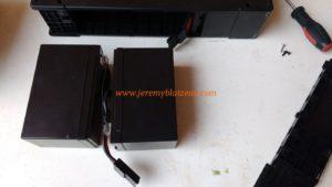 Changer batterie d'un onduleur