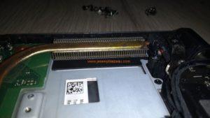 Nettoyer ventilateur d'un Toshiba R50